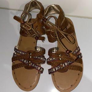 Arizona Jeans Co Sandals -Size 9.5 - Brand New